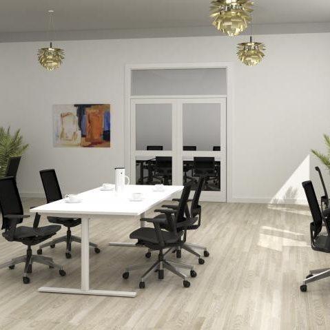 Homris Q10 zit-sta bureau