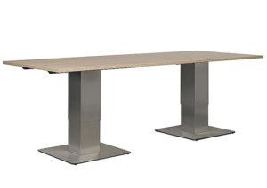 Office by Kisch Bario Duo zit-sta vergadertafel