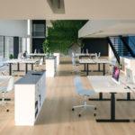 Cube Design Flow zit-sta bureau