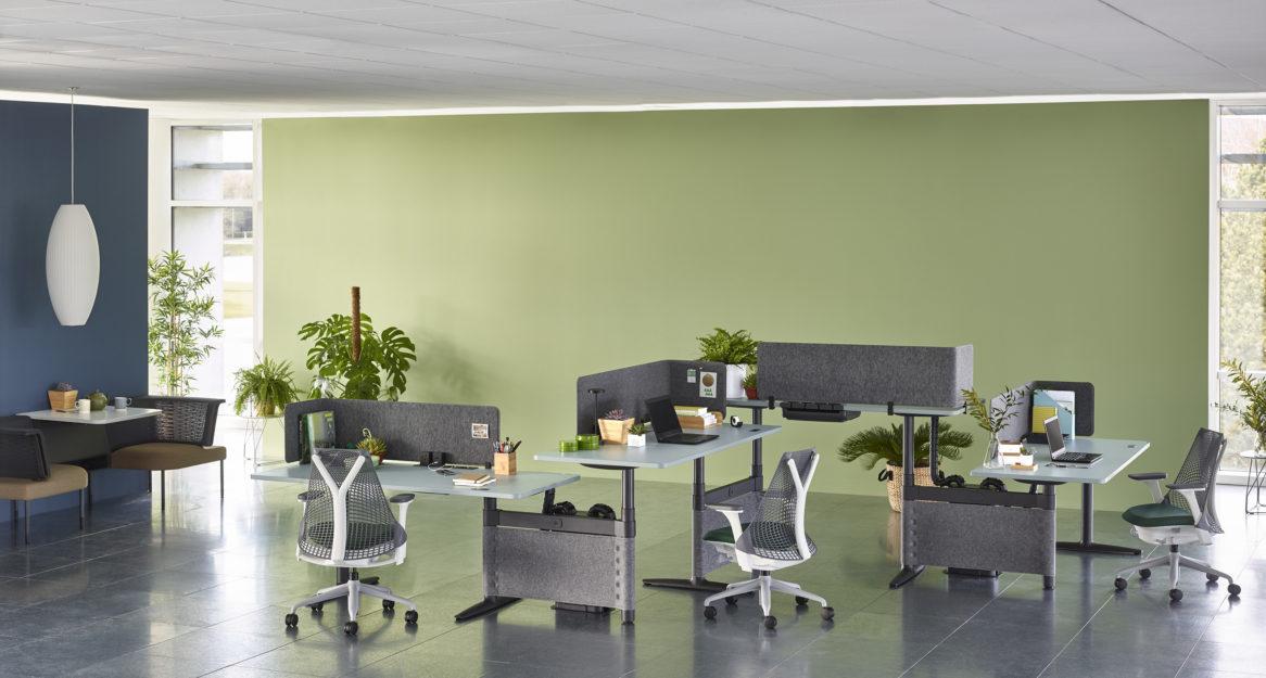Herman Miller atlas office landscape