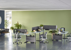 Herman Miller atlas office landscape