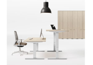 Las Mobili Up zit-sta bureau project meubilair