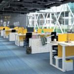 MPG emme zit-sta bureau project meubilair