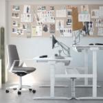 Mobel Linea up zit-sta bureau