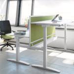 Project Meubilair Mobel Linea up zit-sta bureau 1