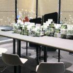 Palmberg zit-sta vergadertafel Project Meubilair