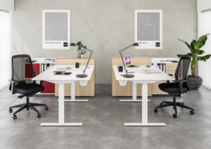Cube Design Raw Bench zit-sta bureau