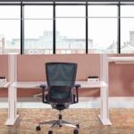 Markant Hybrid zit-sta werkplekken zit-stabureau