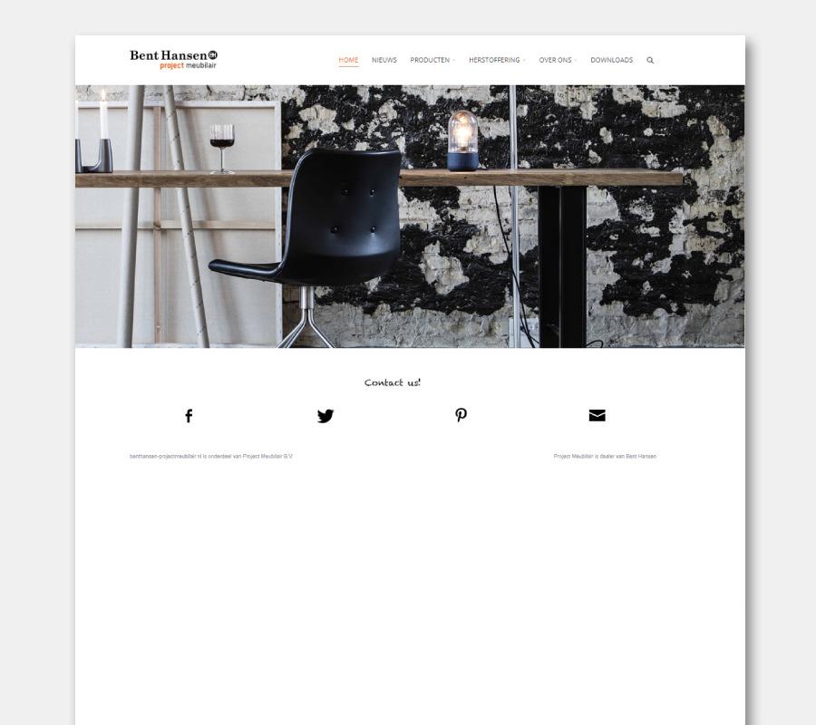 Onze websites zitstabureau Bent Hansen