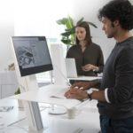 Humanscale Quickstand Eco zit-sta bureau