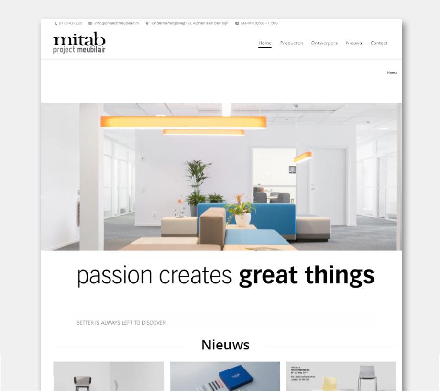 Onze websites zit-stabureau Mitab