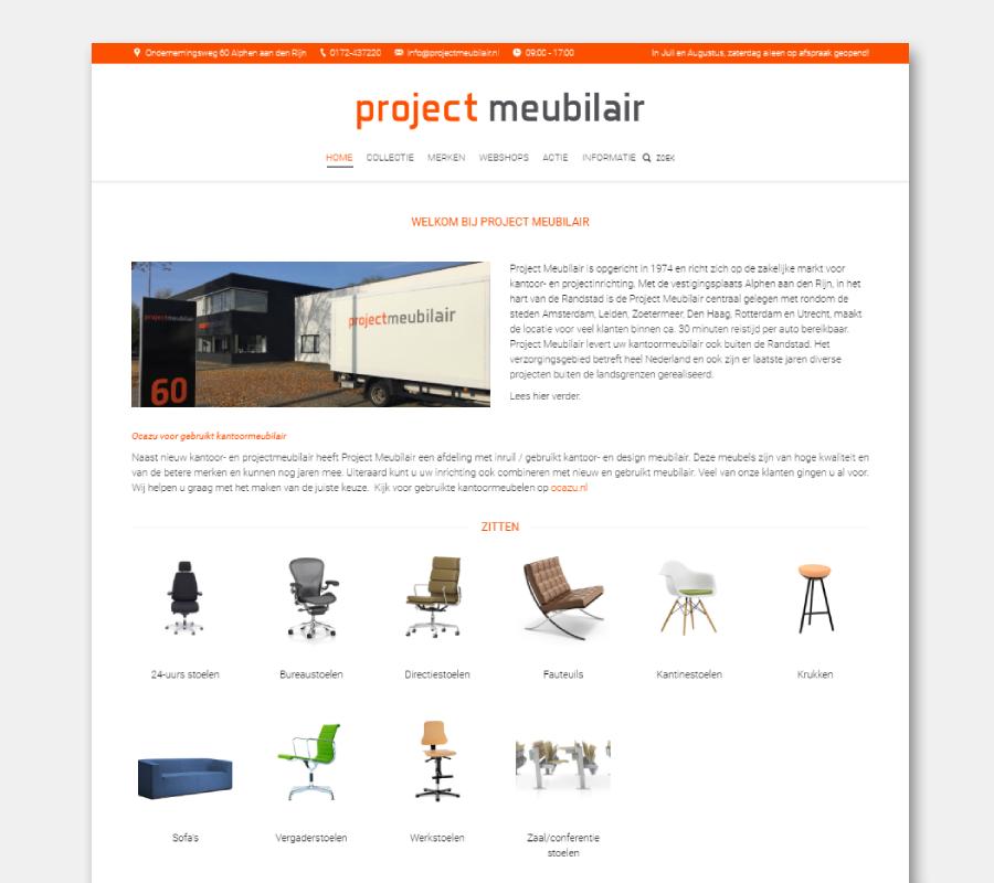 Onze websites zitstabureau ProjectMeubilair
